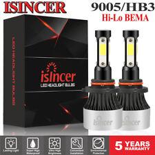 1200W 12802LM 4 Sides 9005 LED Headlight Kit High Beam 9145 H10 HB3 6000K White