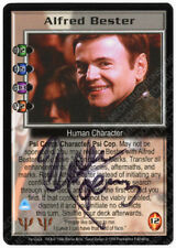Babylon 5 CCG Psi-Corps Embossed Card Alfred Bester Walter Koenig Autograph M/NM