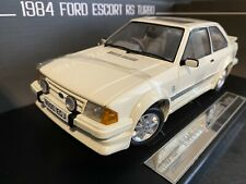 New Listing1984 Ford Escort Rs Turbo White Mk3 1/18 Sunstar Htf