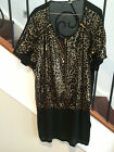 HUSSY LADIES SEQUIN DRESS SIZE 10 GREAT CONDITION - WORN ONCE