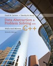 Data Abstraction & Problem Solving with C++: Walls and Mirrors (7th Edition)