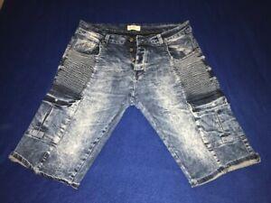 "Men's 883 Police Jean Shorts - Knee Length - 38"" Waist  - Pre-owned"