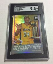 SGC 9.5 Mint+ 2017-18 Optic The Champ Is Here Holo Prizm Kobe Bryant (PSA BGS)