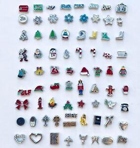 Floating Charm Christmas Jesus fits Origami Owl Glass Memory Lockets
