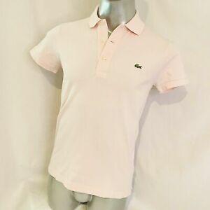 Men's Vintage Lacoste Shot Sleeve Polo Classic fit (Beige L) T - Shirt