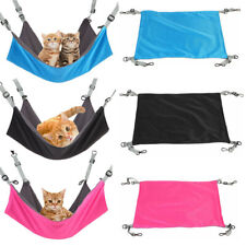 Cat Hammock Bed - Hanging Soft Pet Hammock Bed Pet Crib 2 in 1 Summer & Winter