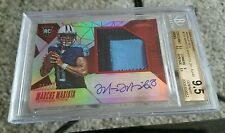 2015 Certified Marcus Mariota RC MIRROR RED /49 AUTO PATCH BGS 9.5/10 GEM MINT