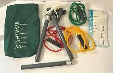 Top Shelf Shoulder System Therapy Kit Pulleys Exercise Rod Color Bands