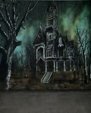 10x20'  HALLOWEEN MUSLIN SCENIC HAND-PAINTED PHOTO BACKDROP BACKGROUND 48-262