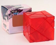 New Transparent Ghost Cube 3x3 Magic cube high difficult speed puzzle red