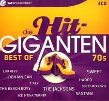 Die Hit Giganten-Best Of 70s (2011) 3 CDs NEU & OVP  Smokie, Sweet, T.Rex u.v.a.
