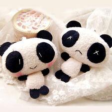 Mobile Phone Panda Shape Key Chain Decoration Accessories(Random Pattern)