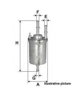 OP - filtro carburante AUDI  A1,A3 Cabrio I,A3 II,A3 Quattro II,A5 Cabrio,RS3 Qu