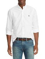 Polo Ralph Lauren Oxford L/S Cotton Shirt For Men -  Custom Fit