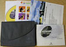 RENAULT CLIO  OWNERS MANUAL HANDBOOK WALLET 1998-2001 PACK 9300