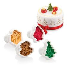 ️ Tescoma Tagliabiscotti Delicia con Stampa natalizia colori assortiti 4 pez