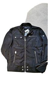 Diesel J-Ride Giacca, Black Biker Jacket size L