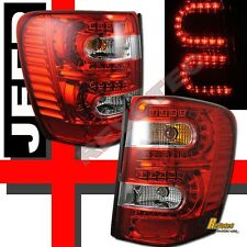 1999-2004 Jeep Grand Cherokee LED Tail Lights 1 Pair
