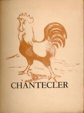 Edmond Rostand/Chantecler/Lithographies originales de Maurice Mourlot/1946