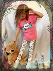 Moschino Leggings Teddy Größe 110, 116, 128,140 NEU Sommer 2021