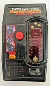 Vintage Mattel Electronics Battlestar Galactica Space Alert 1978 Handheld TESTED