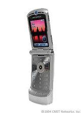 Motorola V3 Silber Kamera  EMail Internet Bluetooth  Klapphandy große Tasten