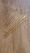 hand made medieval brass needle