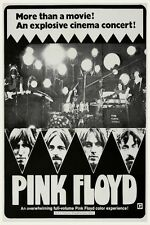 Pink Floyd  POSTER Live In Pompeii  **LARGE**  1972 Roger Waters David Gilmour