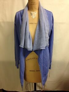 Calvin Klein Performance Fly away Cascading Cardigan XS thistle NWT