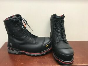 """Men's Timberland Boondock 8"""" Insulated Work Boots Size 9.5"""