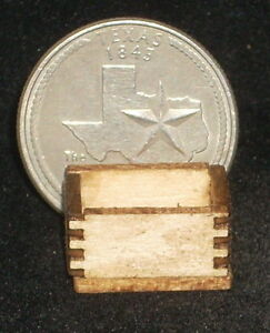 Produce Crate 1:24 or small 1:12 Food, Market Store Dollhouse Miniature Kitchen