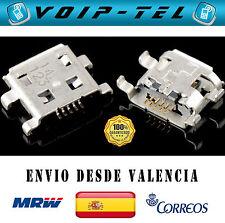 USB CONECTOR CARGA HUAWEI G300 G510 U8815N U8951 ZTE KIS V880 V960 BQ BLACKBERRY