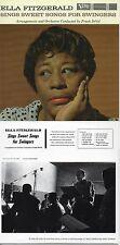 CD Ella FITZGERALD Sings Sweet Songs For Swingers | Mini LP REPLICA CARD SLEEVE