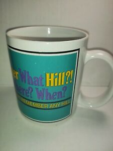 Mugz by Ganz Over The Hill Collectible Coffee Tea Mug Cup Retirement 8 oz Funny