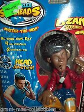 "SKRIBBLES SPIN HEAD FIGURE ""DZAK  ""  HIP HOP  MASTER THE MIX HEAD  NEW"