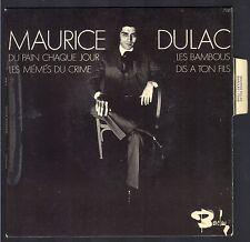MAURICE DULAC EP FRENCH POP 70 45T BIEM BARCLAY 71.419 DIS A TON FILS