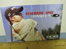 OAKLEY 2006 RYAN MOORE GOLF PING dealer promo display card NEW old stock