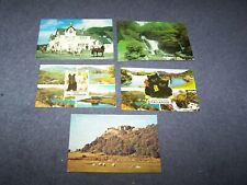 5 postcards of Stirlingshire  ~ 3 blank, 2 posted