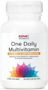GNC Women's One Daily Multivitamin Energy and Metabolism, 60 Caplets