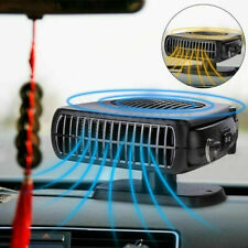24V 2 In 1 Portable DC Car Auto Fan Heater Cooler Plugin Demister Defroster