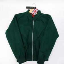 Cotton Works MEN'S green Bomber HR03 con originale pendaglio appeso-Taglia S