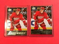 Dylan Larkin 2015-16 Upper Deck Young Guns Rookie Card RC Lot of 2