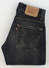 Levis 511 Homme Bleu Cigarette, Slim Jeans W30 L34 (24220)