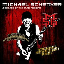 A Decade of the Mad Axeman by Michael Schenker (CD, Jan-2018, 2 Discs, MSG