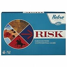 Risk Brothers Board Game Factory Retro Edition 1968
