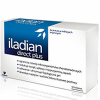 Iladian Direct Plus 10 vaginal capsules / restores and maintains PH