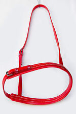 PVC Caveson Nose Band - Red