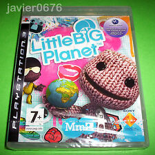 LITTLE BIG PLANET NUEVO Y PRECINTADO PAL ESPAÑA PLAYSTATION 3 PS3