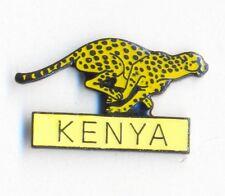 CHEETAH RUNNING KENYA - LAPEL PIN