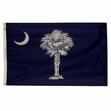 4x6 ft SOUTH CAROLINA Palmetto State OFFICIAL FLAG Outdoor Nylon Made in USA